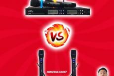 So Sánh Micro Không Dây Himedia UHX5 Và Micro Karaoke Giá Rẻ UHX7