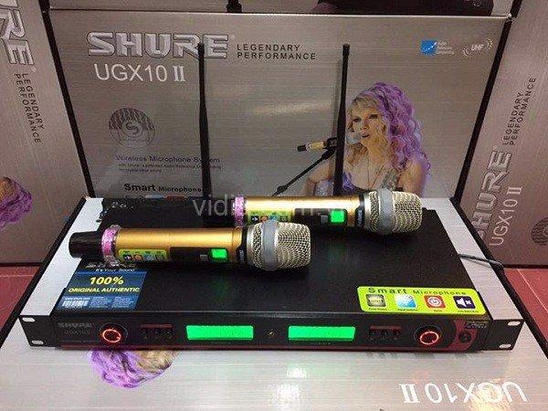 Micro_Shure_UGX10II.