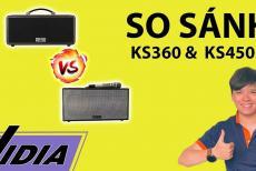 So Sánh Dàn Karaoke Di Động Loa Kéo Mini KS360 Với Loa Kéo Acnos KS450M - Loa Kéo Dưới 10 Triệu