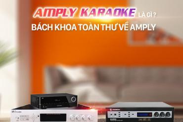 Amply Karaoke Là Gì? Bách Khoa Toàn Thư Về Amply Karaoke?