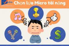 Lưạ Chọn Micro Tài Năng Vẹn 10 Cho Dàn Âm Thanh Giải Trí Gia Đình