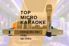 Top Micro Karaoke Không Dây Cao Cấp Nâng Giọng Hoàn Hảo