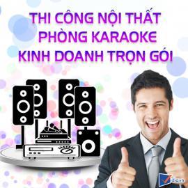 Thi Công Nội Thất Phòng Karaoke Kinh Doanh Trọn Gói