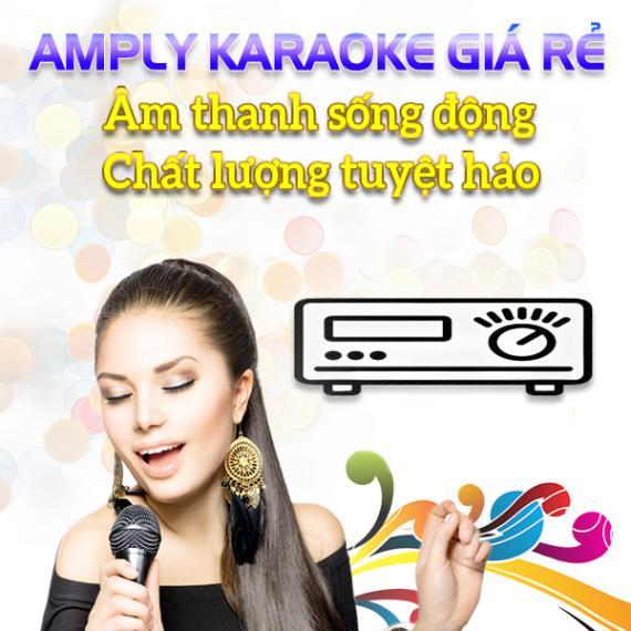 Amply Karaoke Giá Rẻ