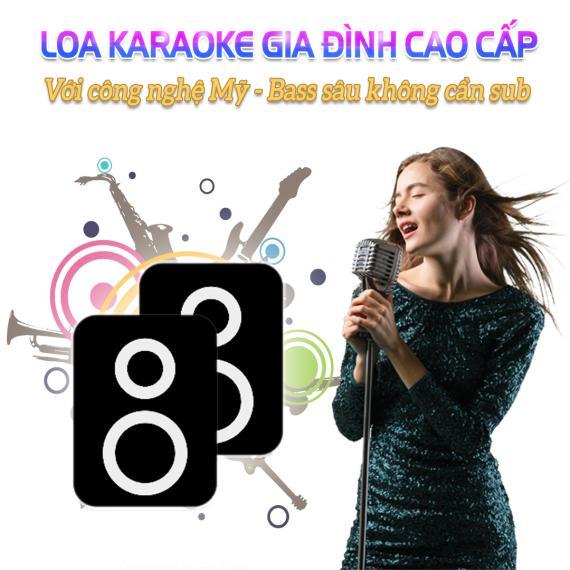 Loa Karaoke Gia Đình Cao Cấp