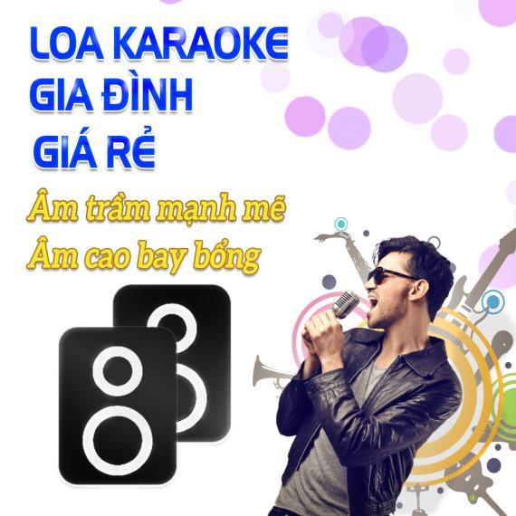 Loa Karaoke Gia Đình Giá Rẻ