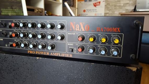 Amply NAXO HA-700MX - Hàng Demo Cửa Hàng