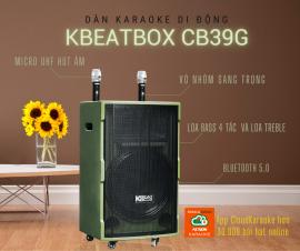 Dàn Karaoke Di Động KBEATBOX CB39G