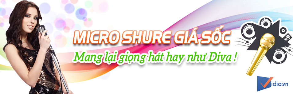 Micro Shure Hay Giá Sốc