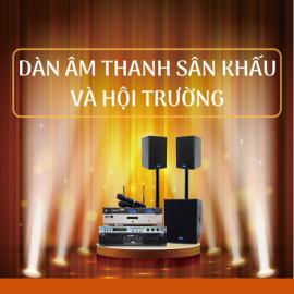 Dàn Âm Thanh Sân Khấu, Hội Trường