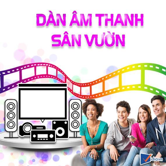Dàn Âm Thanh Sân Vườn