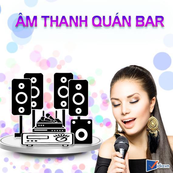 Thi Công Âm Thanh Quán Bar