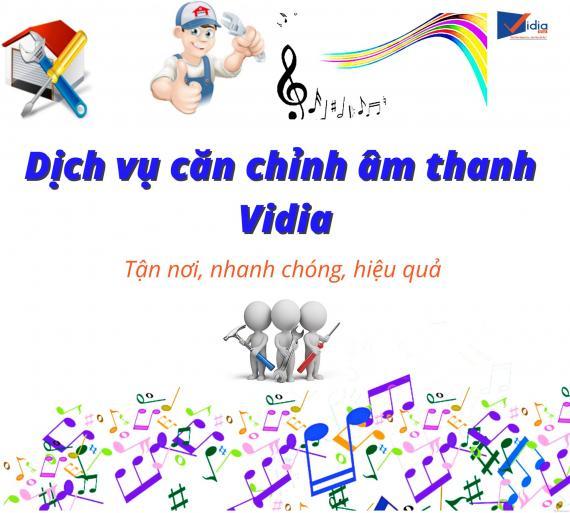 DỊCH VỤ CĂN CHỈNH ÂM THANH