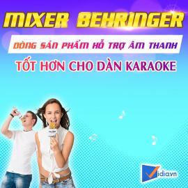 Mixer Karaoke Behringer