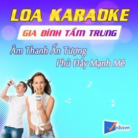 Loa Karaoke Gia Đình Tầm Trung Bán Chạy - Vidia - 2019