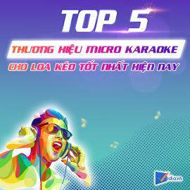 Micro Karaoke Cho Loa Kéo