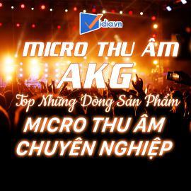 Micro Thu Âm AKG