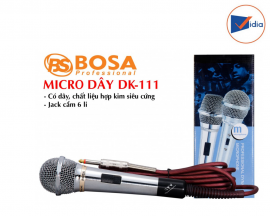 Micro Có Dây Bosa DK-111
