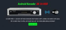 Android AK-36HDD (Không kèm ổ cứng & Micro)