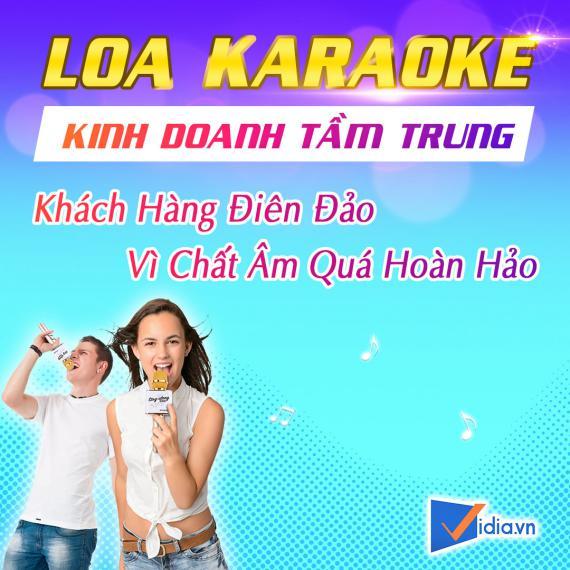 Loa Karaoke Kinh Doanh Tầm Trung Bán Chạy Vidia - 2020