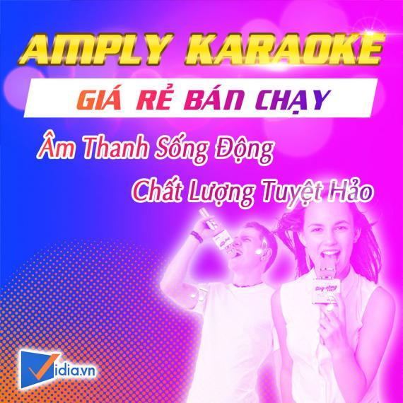Amply Karaoke Giá Rẻ Bán Chạy - Vidia - 2020