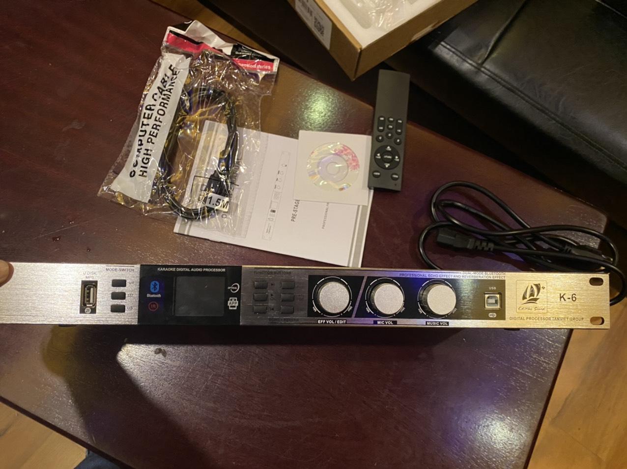 mixer số karaoke