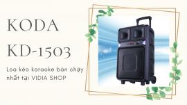 Loa Kéo Karaoke KODA KD-1503 - Loa Kéo Karaoke 4 Tấc Bán Chạy