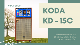 Loa Kéo Karaoke KODA KD15C