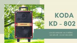 Loa Kéo Karaoke KODA KD - 802