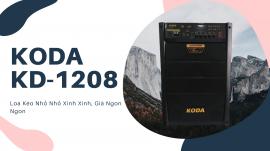 Loa Kẹo Kéo Koda KD-1208, Loa Kéo Nhỏ Nhỏ Xinh Xinh Giá Ngon Ngon