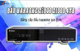 Đầu Karaoke Cao Cấp - ZIDOO Z1000 4TB