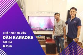 Tư Vấn Dàn Karaoke Tại Nhà