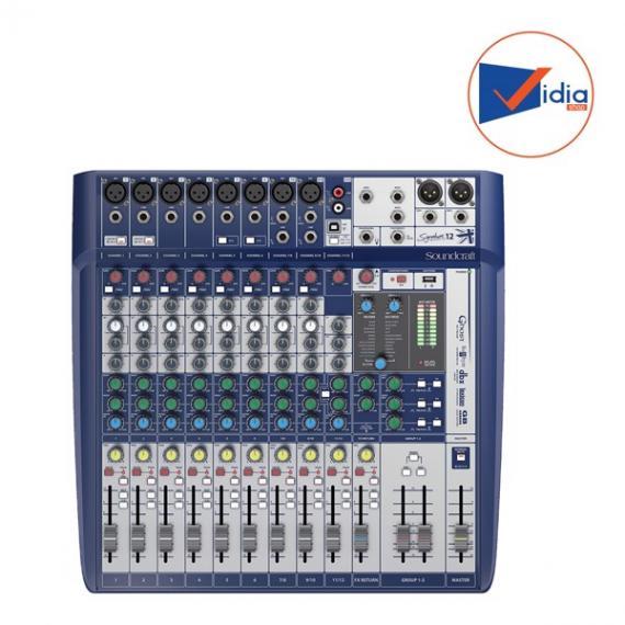 SOUNDCRAFT SIGNATURE12-EU-MIX