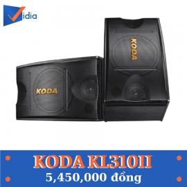 Loa Karaoke KODA KL310II - Dòng loa chuyên nghiệp cho thị trường KARAOKE